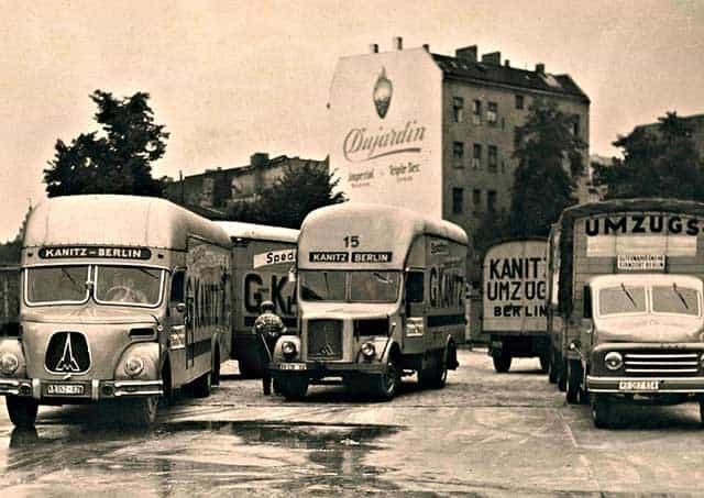 KANITZ BERLIN. Founded in 1953. Transportation of instruments is our passion.
